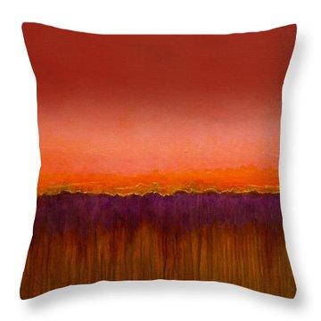 Morning Has Broken - Art By Jim Whalen Throw Pillow