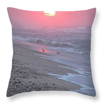 Throw Pillow featuring the photograph Morning Haze by  Newwwman