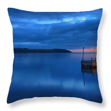 Morning In Cape Breton Throw Pillow