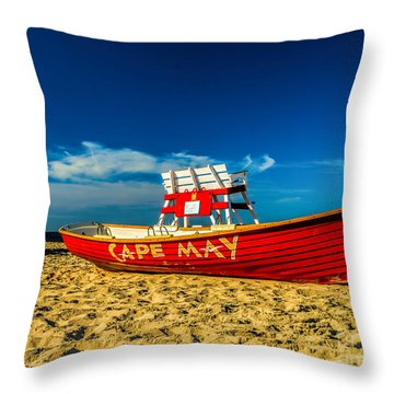 Morning In Cape May Throw Pillow