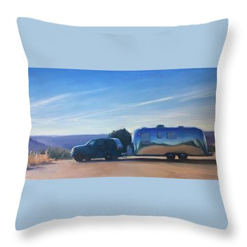 Morning In Palo Duro Throw Pillow