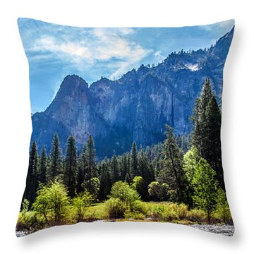 Morning Inspirations 3 Of 3 Throw Pillow