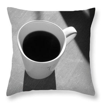 Morning Joe Throw Pillow