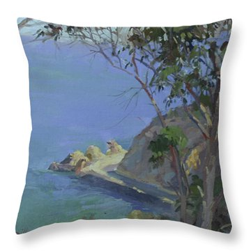 Morning Light Catalina Throw Pillow