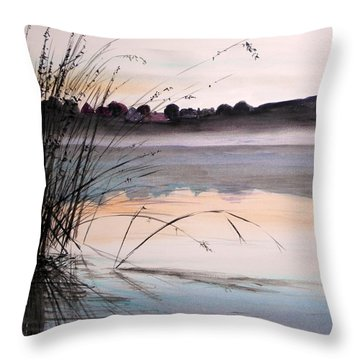 Morning Light Throw Pillow by John Williams