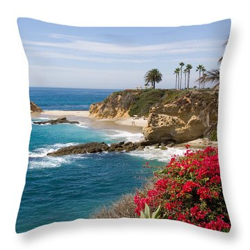 Morning Light Montage Resort Laguna Beach Throw Pillow