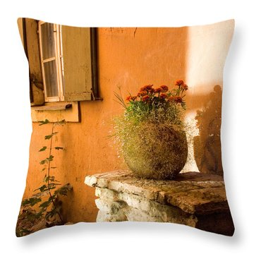 Morning Light Tuscany Throw Pillow