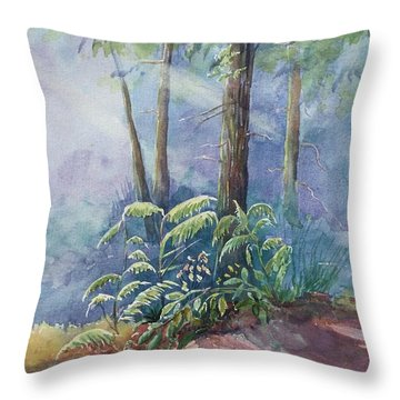 Morning Light Throw Pillow by Yohana Knobloch