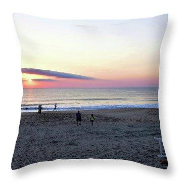 Morning Meditation Throw Pillow by Kim Bemis