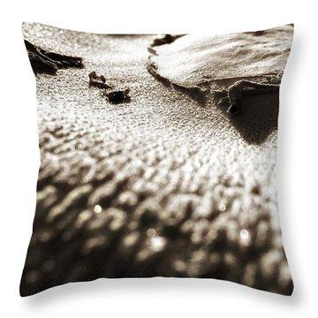 Morning Mushroom Top Throw Pillow