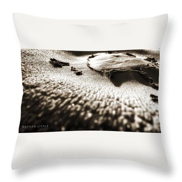 Morning Mushroom Top Throw Pillow