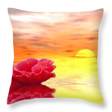 Morning Of Your Dreams Throw Pillow
