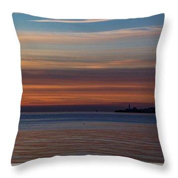 Morning Pastels Throw Pillow