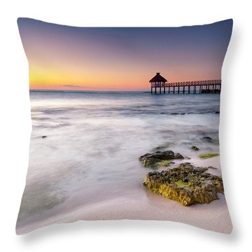 Morning Pastels Throw Pillow