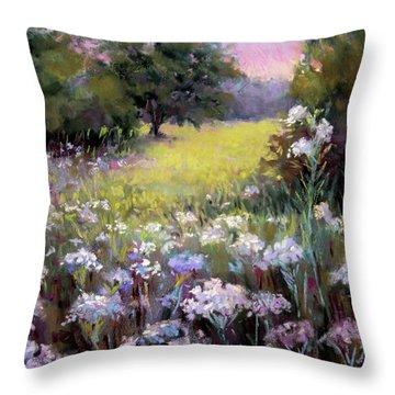 Morning Praises Throw Pillow