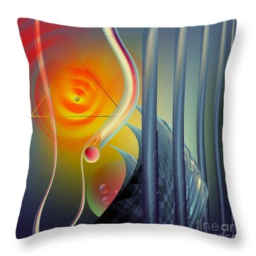 Morning Prayer 2 Throw Pillow by Leo Symon