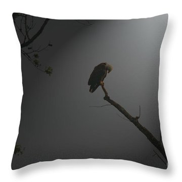 Throw Pillow featuring the photograph Morning Prayer by Geraldine DeBoer