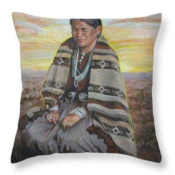 Morning Prayer Throw Pillow