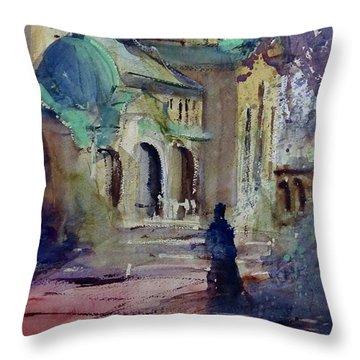 Morning Prayers Throw Pillow