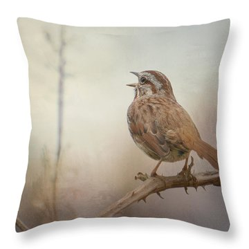 Morning Reverie Throw Pillow
