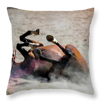 Morning Roll Throw Pillow