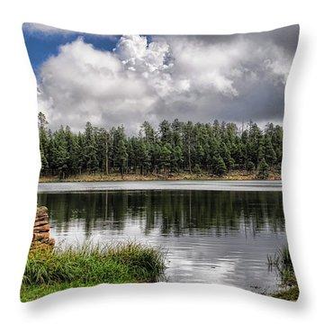 Morning Serenity  Throw Pillow by Saija  Lehtonen