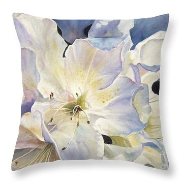 Morning Shadows   Sold Prints Available Throw Pillow