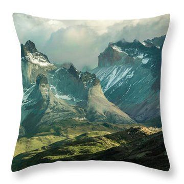 Morning Shadows Throw Pillow by Andrew Matwijec