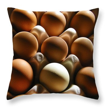 Throw Pillow featuring the photograph Morning Shadows by Laura Brightwood