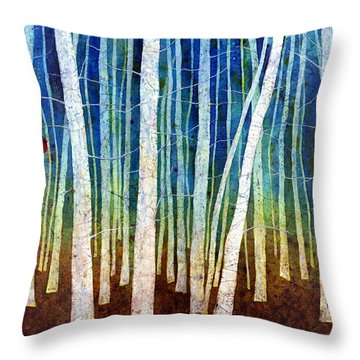 Morning Song II Throw Pillow