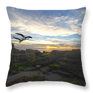 Morning Song Throw Pillow