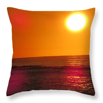 Morning Sun Break Throw Pillow