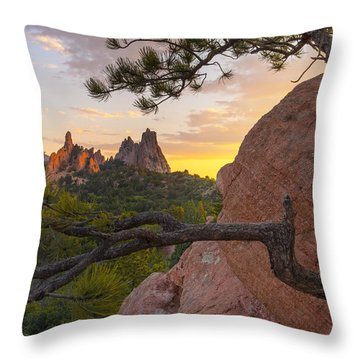 Morning Sunrise Throw Pillow