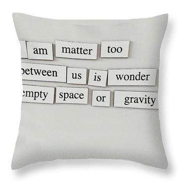 Morning Thoughts. Throw Pillow