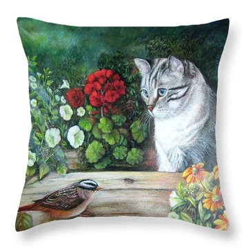 Morningsurprise Throw Pillow