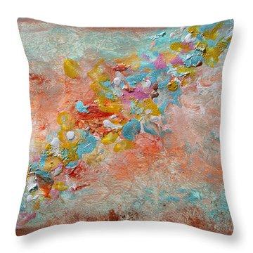 Moroccan Dream Part 2 Throw Pillow
