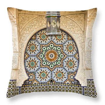 Stucco Throw Pillows