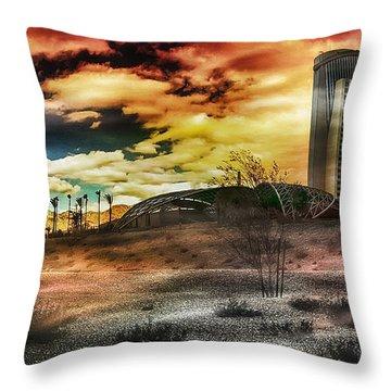 Morongo Casino Sunset Throw Pillow