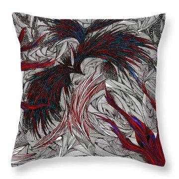 Morpheus Throw Pillow by Robert Nickologianis