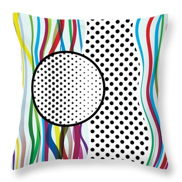 Morris Pop-art Throw Pillow