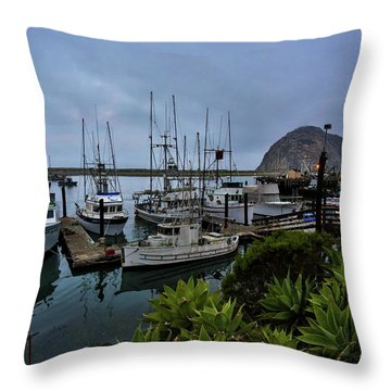 Morro Bay Throw Pillow