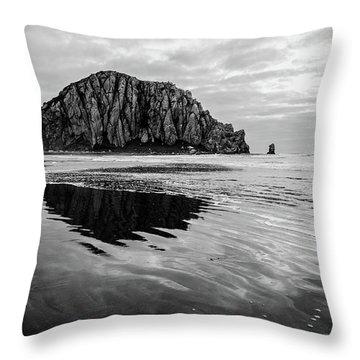 Morro Rock II Throw Pillow