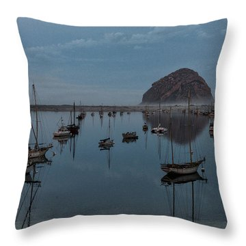 Morrow Bay Reflection Throw Pillow