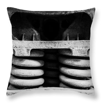 Throw Pillow featuring the photograph Mortal Coils by Rhys Arithson