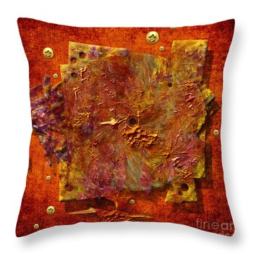 Mortar Disc Throw Pillow