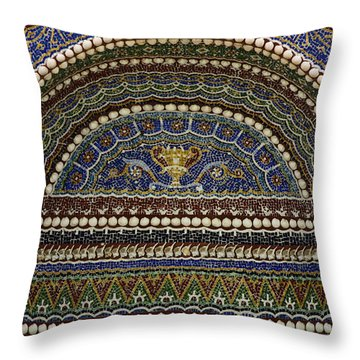 J Paul Getty Photographs Throw Pillows