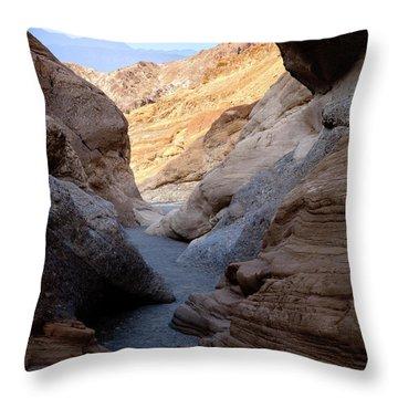 Mosaic Canyon Throw Pillow