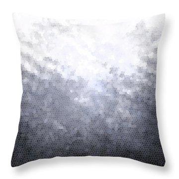 Mosaic Ombre Throw Pillow