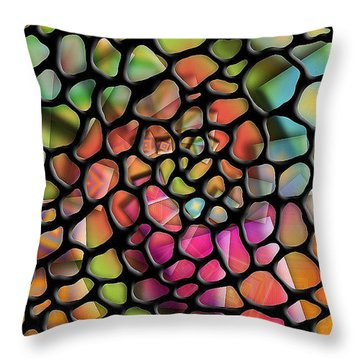 Mosaic Throw Pillow