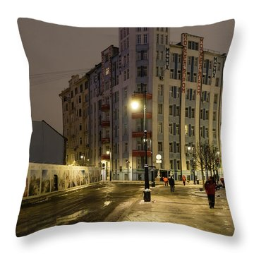 Moscow Morning 1 Throw Pillow